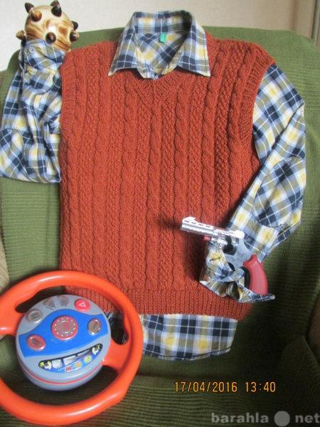 Продам жилеты для мальчиков ручной работы