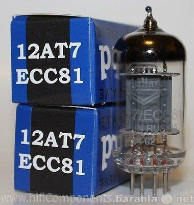 Продам Радиолампа 12AT7/ECC81 Mullard