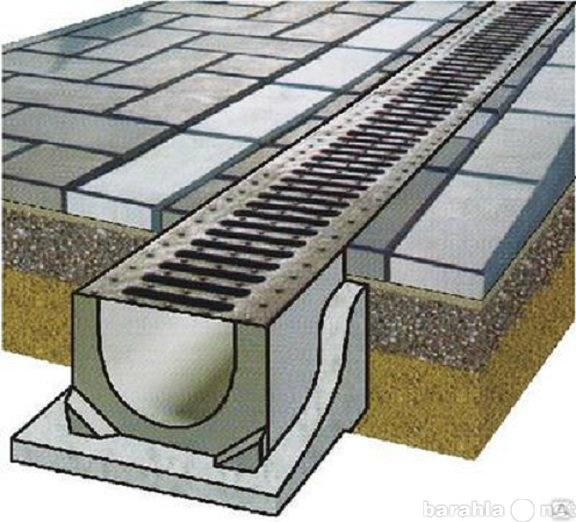 Продам Лотки водоотводные бетон
