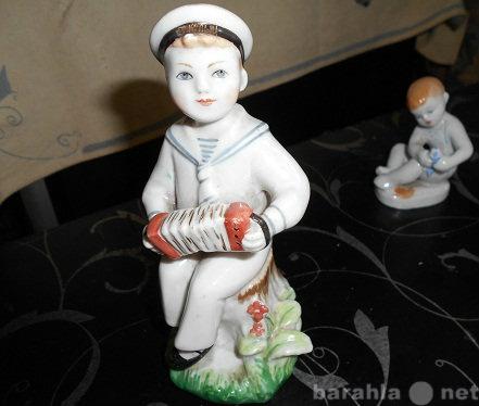 Продам: Статуэт ссср Ребенок с рыбкой фарфор лфз