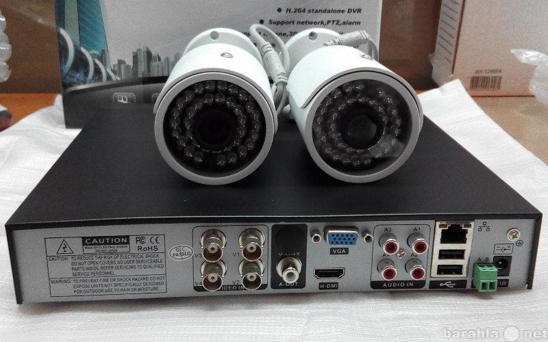 Продам Комплект видеонаблюдения из 2х камер