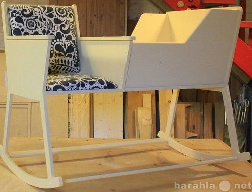 Продам: кресло-качалку с колыбелью