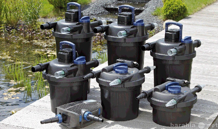 Продам Проточные и напорные фильтры для пруда