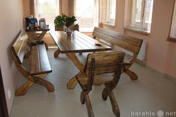 Продам Стол и стулья (лавочки)