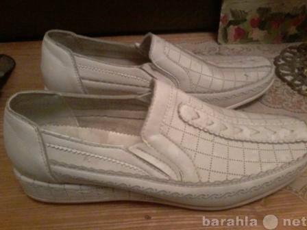 Продам Туфли женские белые р.38
