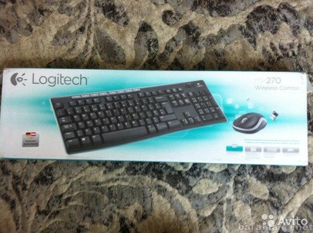 Продам Беспроводная клавиатура Logitech mk270