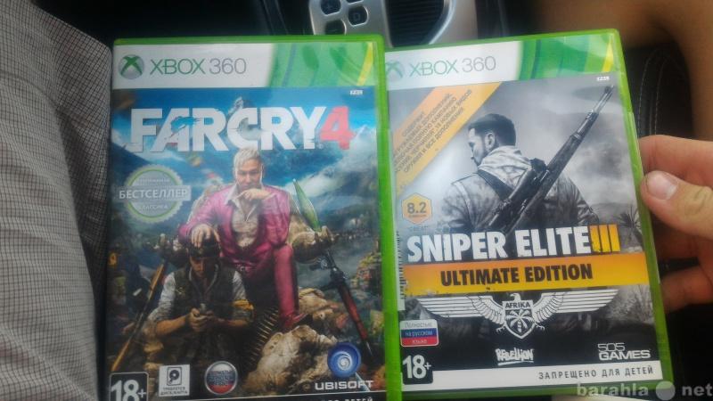 Продам Farcry 4 и sniper elite 3