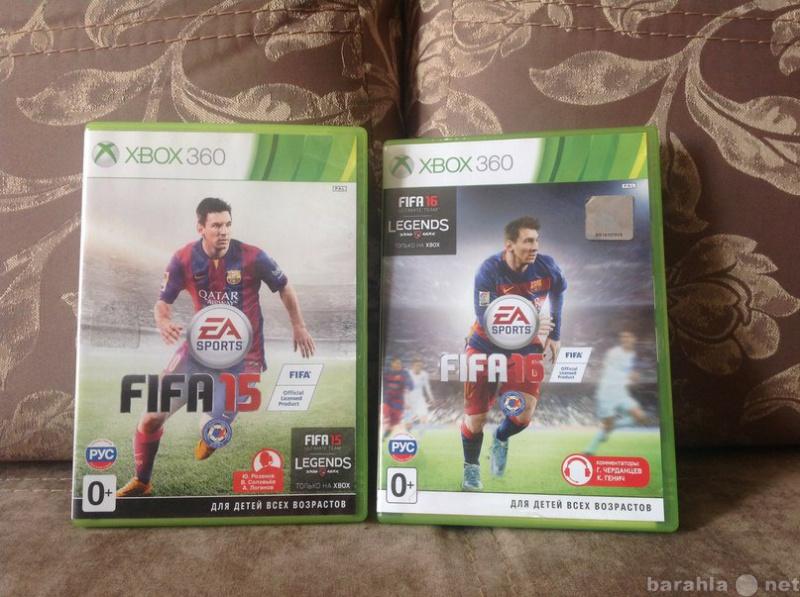 Продам Две игры FIFA 2015, 2016