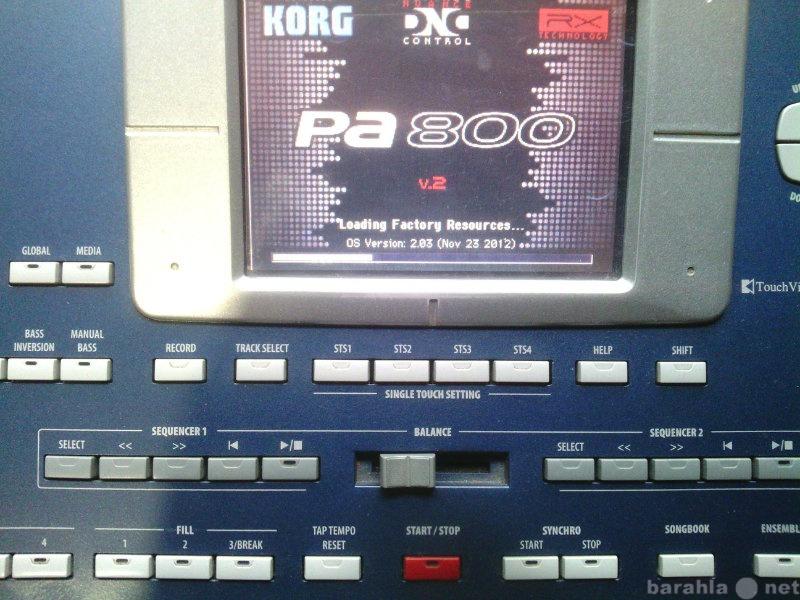 Продам Korg Pa800,dual MP3,120 Gb