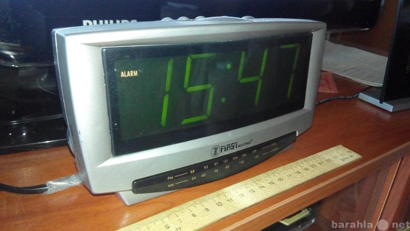 Продам Часы First RW-2400 с будильником и радио
