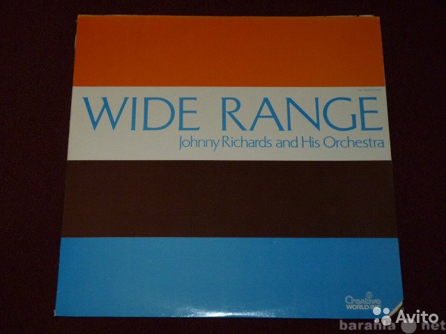 Продам: Wide Range - Jonny Richards LP