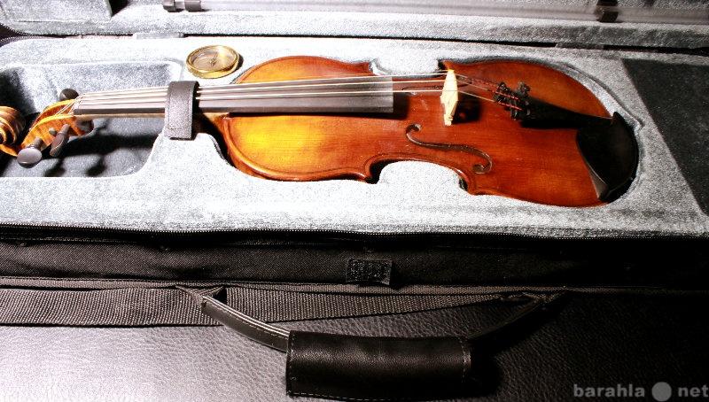 Продам Скрипка 1/2 мастеровая + футляр + кейс
