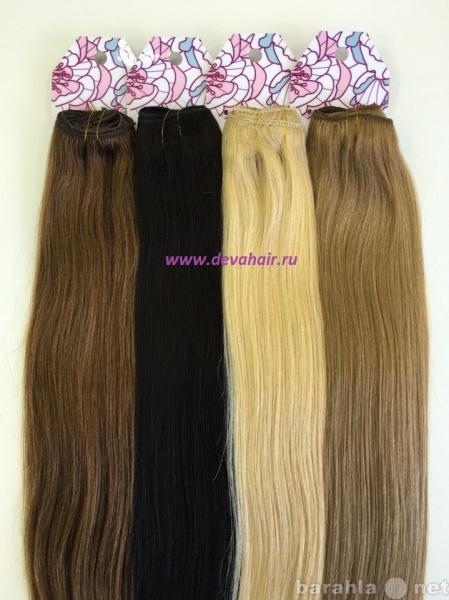 Продам Натуральные волосы на трессе. Тюмень