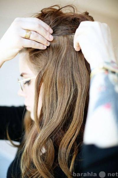 Продам Натуральные волосы на заколках. Сургут