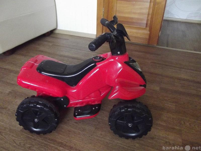 Продам квадроцикл детский на аккумуляторе