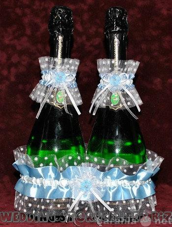 Продам Свадебные Украшения на шампанское