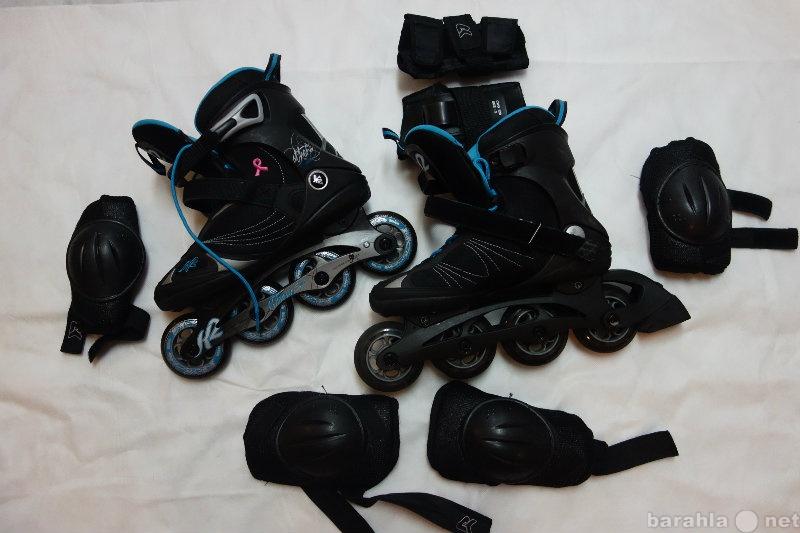 Продам роликовые коньки K2 Athena Speed