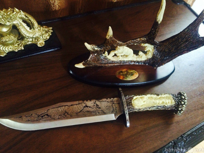 Продам Сувенирный резной нож