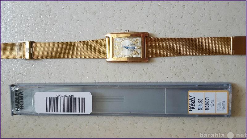 Продам Позолоченный мужской браслет для часов.