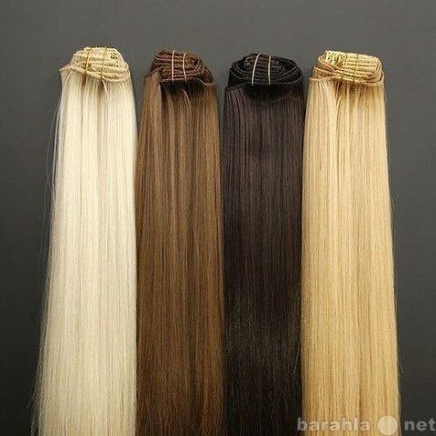 Продам Натуральные волосы на трессе.