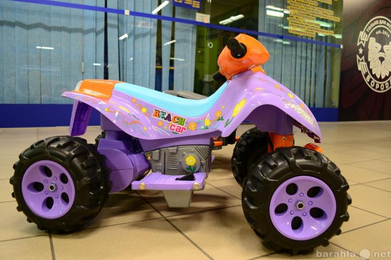 Предложение: Детский квадроцикл на аккумуляторе элект
