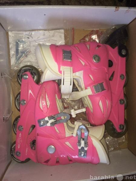 Продам: Роликовые коньки раздвижные для девочек