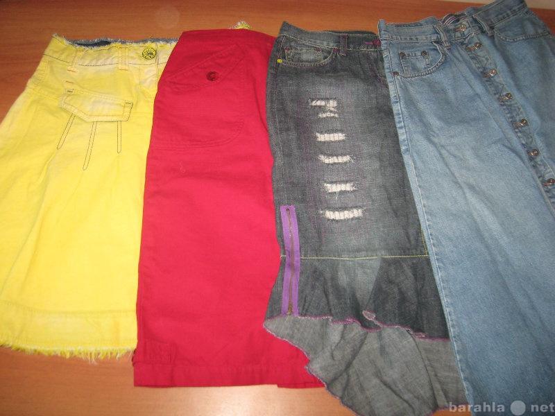 Продам Юбки джинсовые  разного цвета 44-46 рр