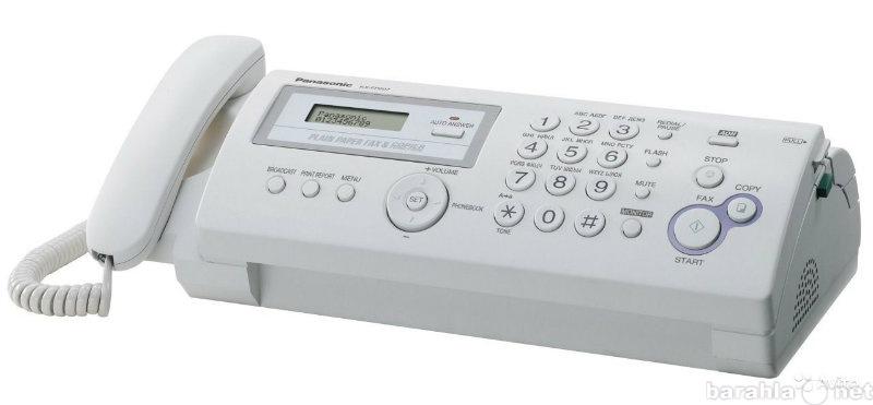 Продам Факс panasonic kx-fp207ru