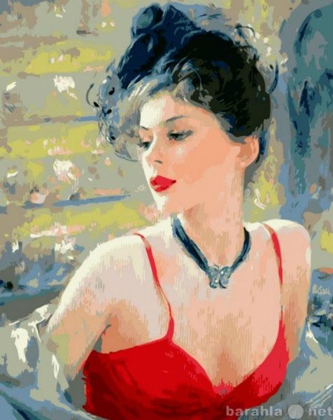 Продам: Картины-раскраски на холсте