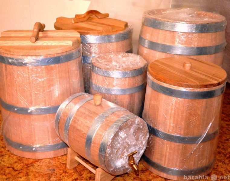 Продам: Деревянные бочки для самогона и солений