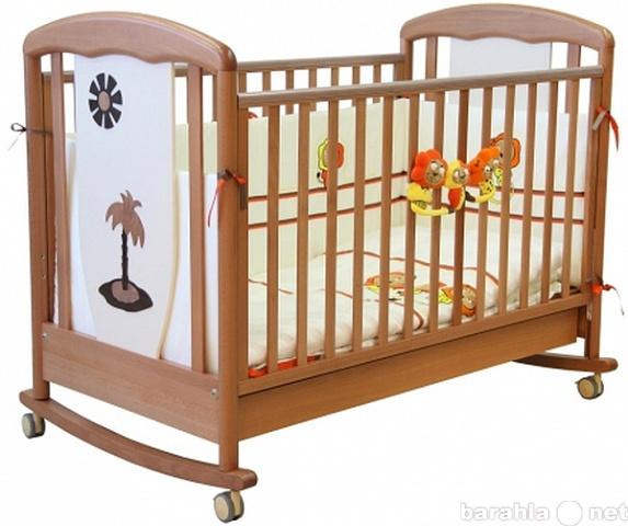 Продам: Кроватка Papaloni Vitalia колесо-качалка