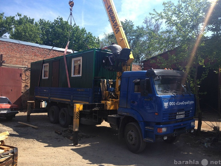 Продам Домик-вагончик зеленый, два окна