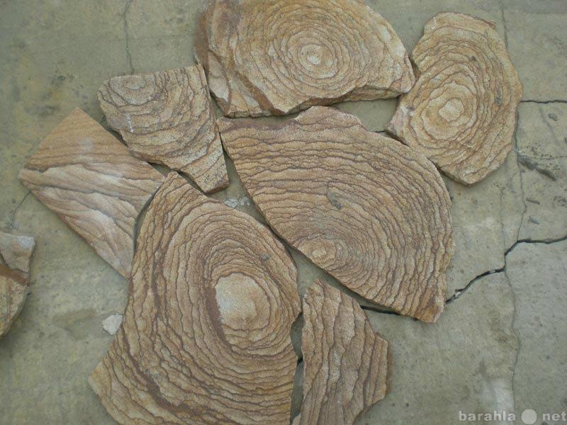 Продам Камень Шкура тигра натуральный песчаник
