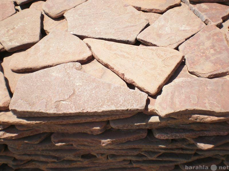 Продам Камень галтованный Красный натуральный п
