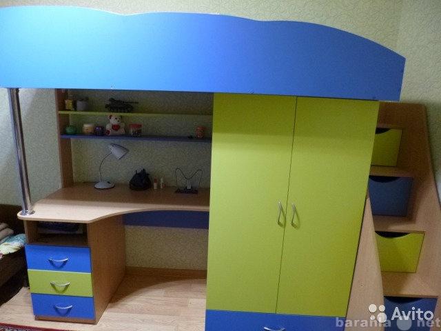 Продам детская кровать-комплект