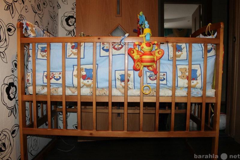 Продам Детскую кроватку - маятник