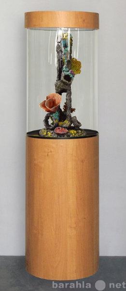 Продам Аквариум башня - цилиндр на 96л