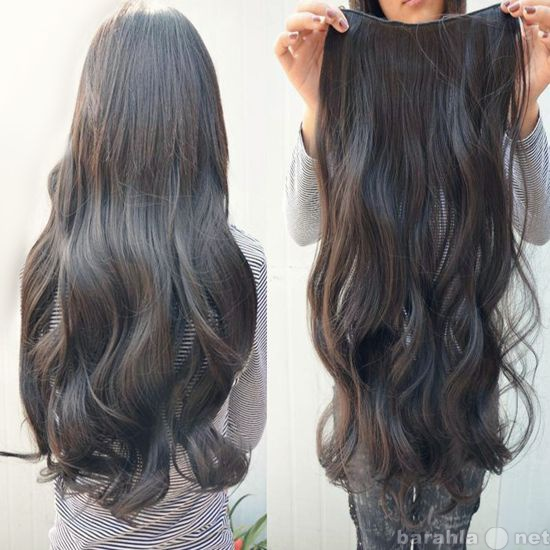 Продам Натуральные волосы на заколках  55см