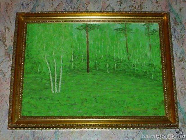 """Продам Картина """"Три сосны"""" В.Ланский"""