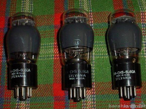 Продам Радиолампы 6L6 (6П3С) usa