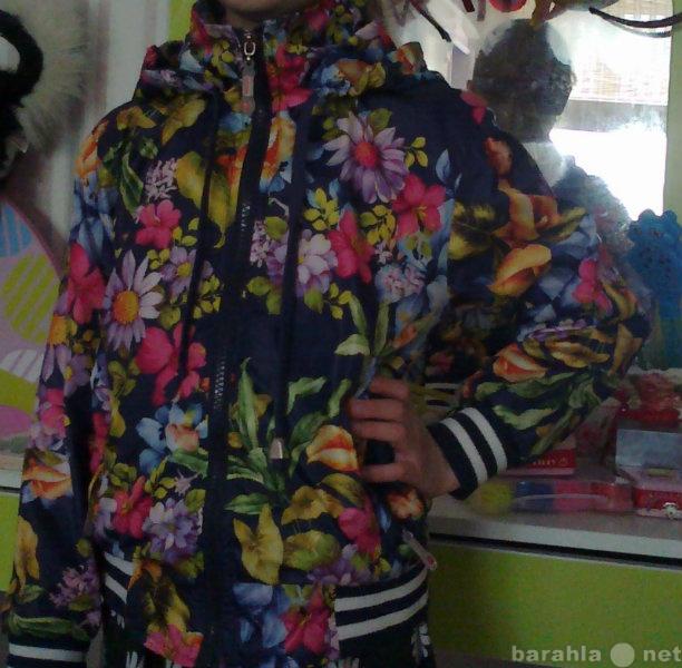 Продам Новая куртка ветровк на хб подкл122-12