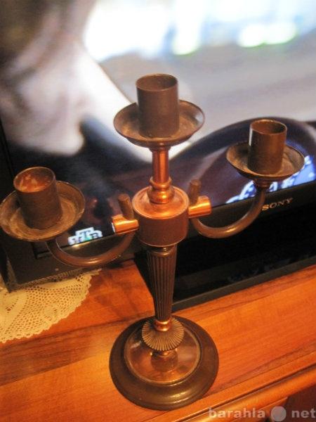 Продам Подсвечник на три свечи из семидесятых