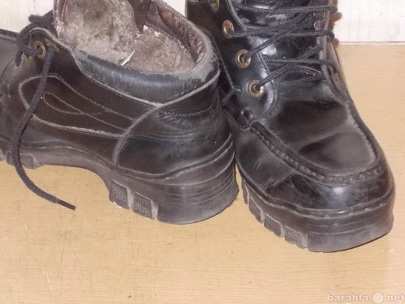 Продам: Ботинки зимние 40 муж.