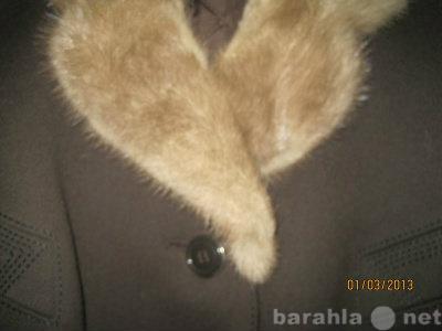 Продам: 1979 Пальто ж австрийское воротник норка