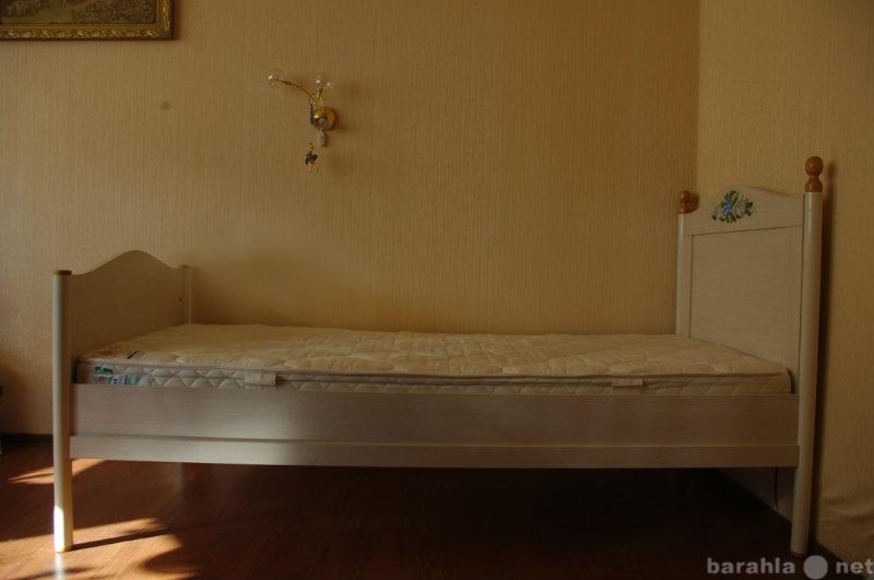 Продам Кровать 90*200 + ортопед.матрац зима-лет