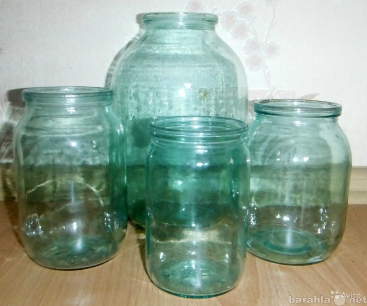 Продам Банки стеклянные разные (остатки)