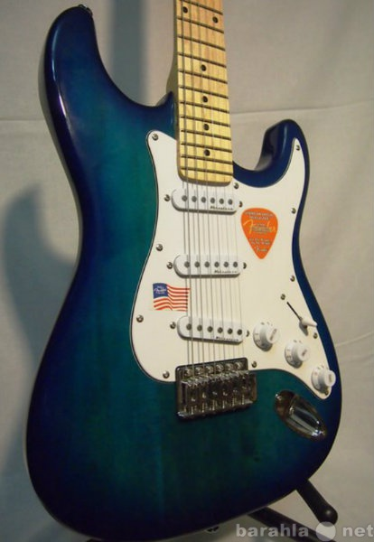 Продам Fender Custom Shop Stratocaster Blue Bur