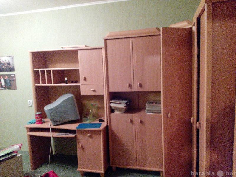 Продам детскую пристенную мебель