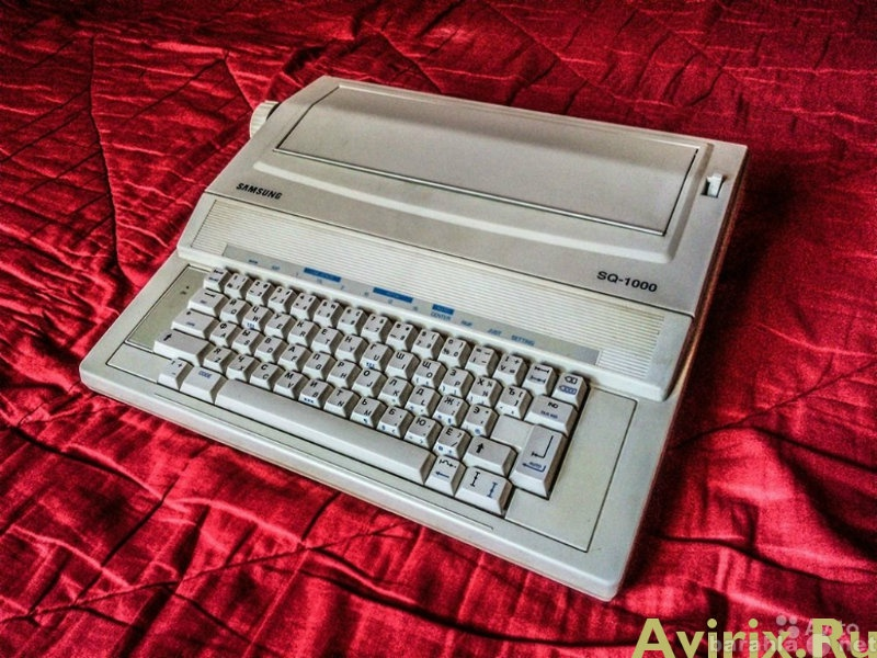 Продам: печатная машинка samsung sg-1000