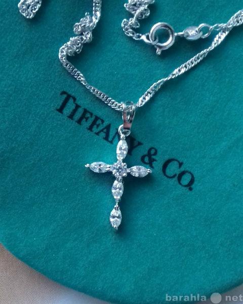 Продам Подвеска Крестик Zirconia Tiffany Style